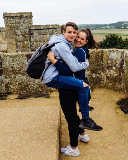 Castle Selfie