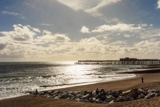 Der Strand im Herbst. Wie sieht da erst der Sommer aus?