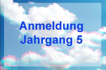 Anmeldung Jg5