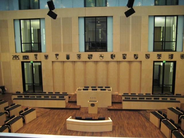 Plenarsaal Bundesrat