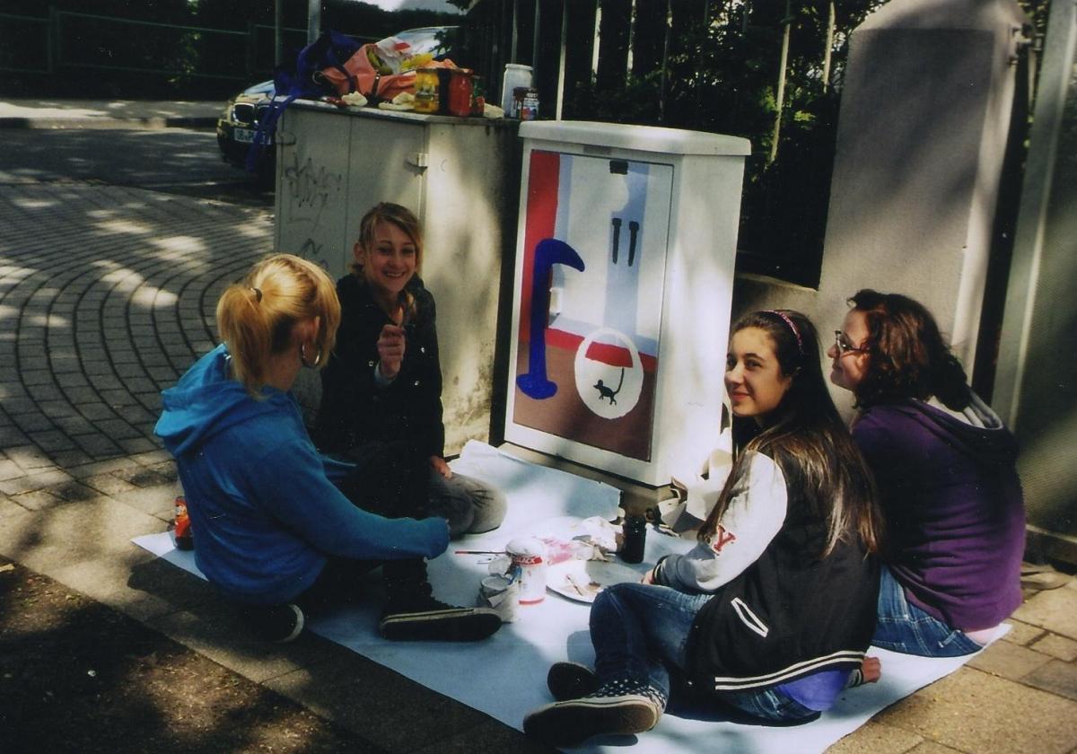 Ann-Kathrin,Yvonne,Chantal,Giovanna